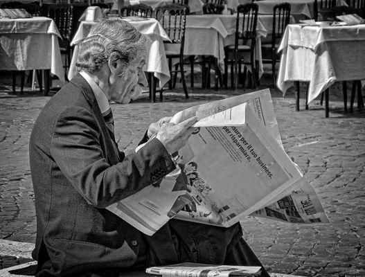 Der Zeitungsleser
