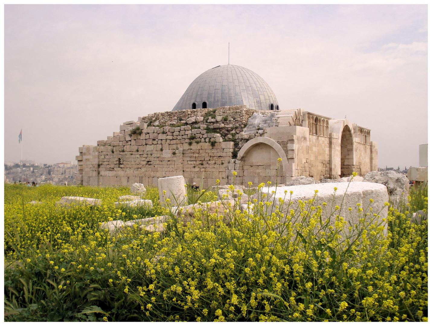 Der Zitadellenhügel in Amman