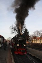 Der Zug läuft ein