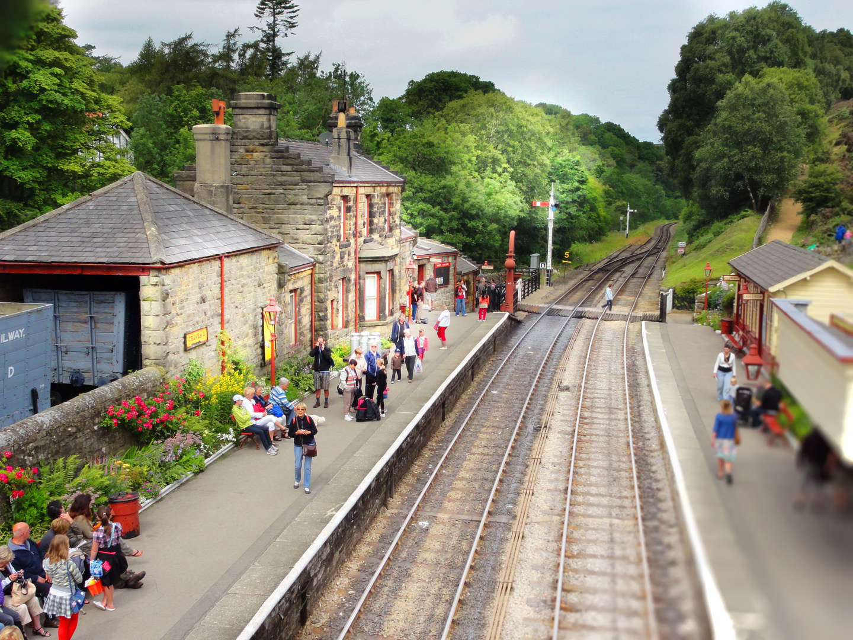 Der Zug sollte nie kommen, so schön ist das hier...