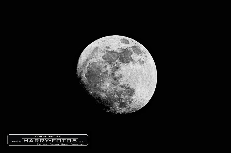 Der zunehmende Mond am 04.04.2012