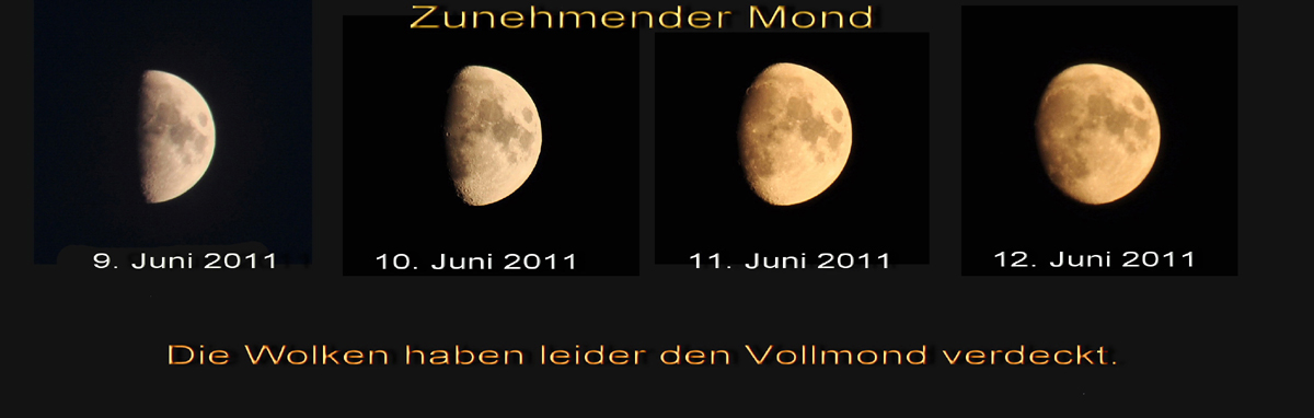 Der zunehmende Mond