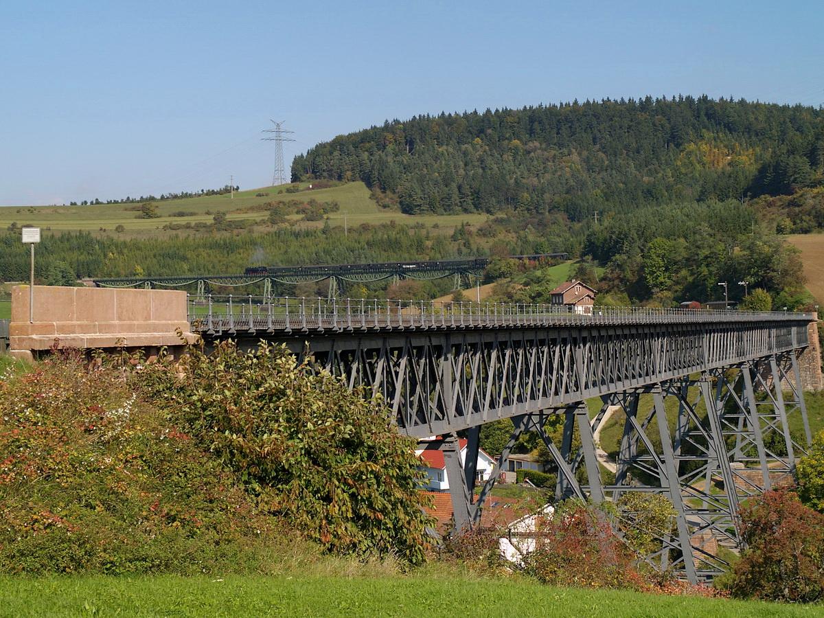 ...der zwei Viadukte Blick...