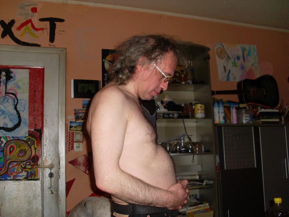 der zweite schwangere MANN der welt