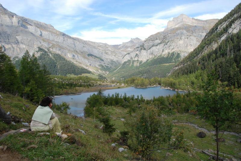 Derborence, un endroit naturel très protégé