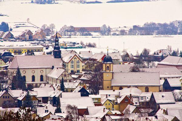 Dermbach/Rhön im Winter