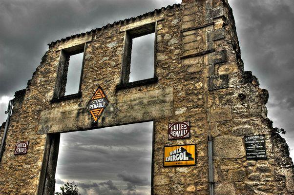 Dernière photo d'Oradour !