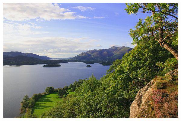 Derwent Water im Lake District