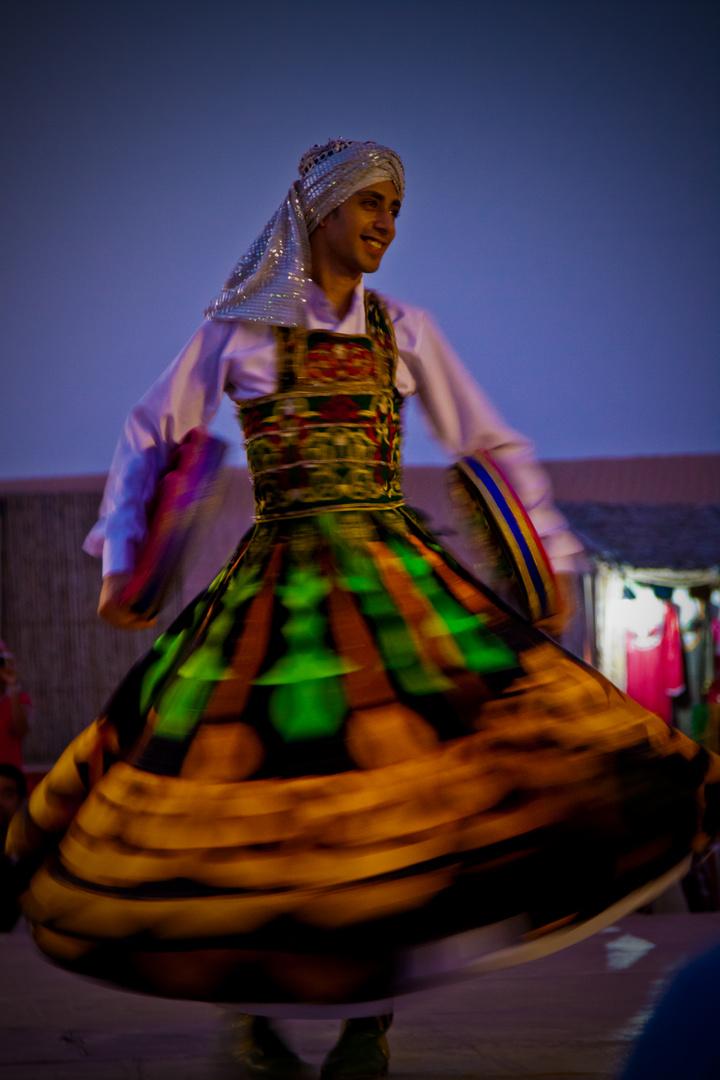 Derwisch - Tänzer in der Wüste -