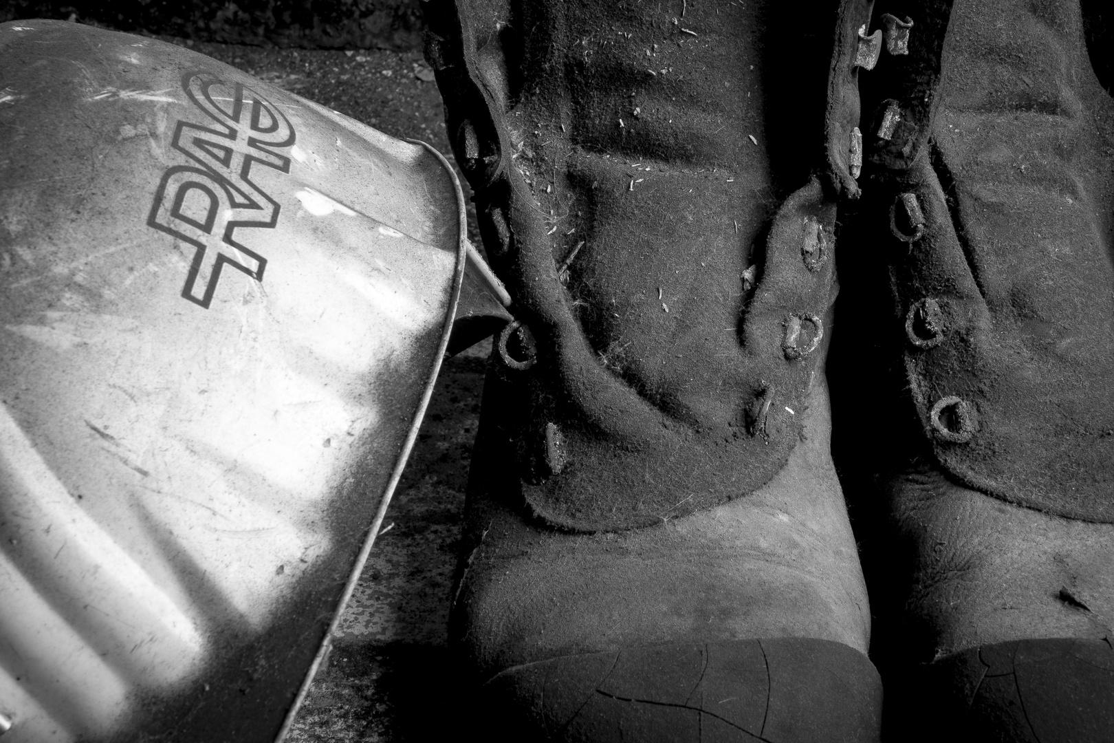 Des Bergmanns Schuhe