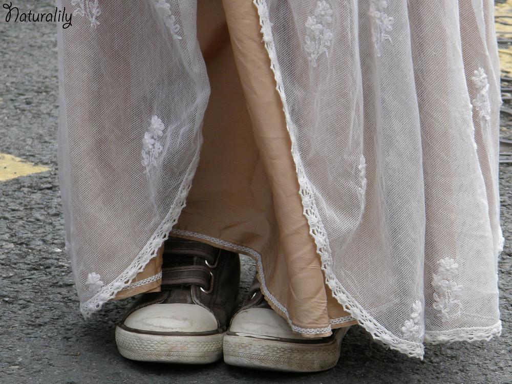 Des chaussures de 1900 ???