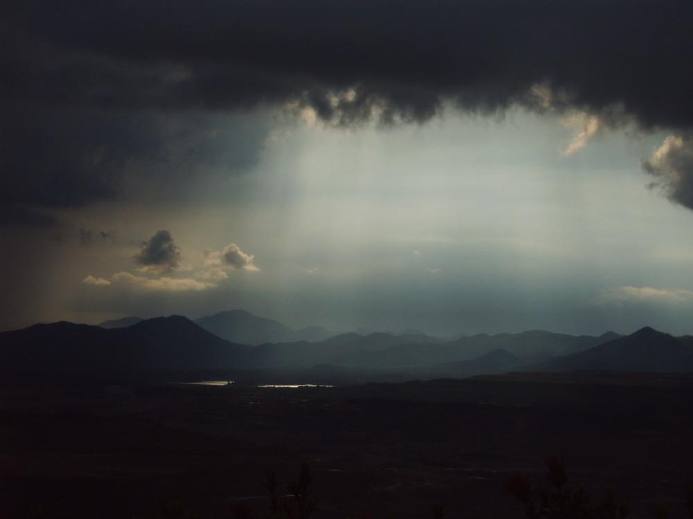 Des Himmels Schleusen oeffnen sich....