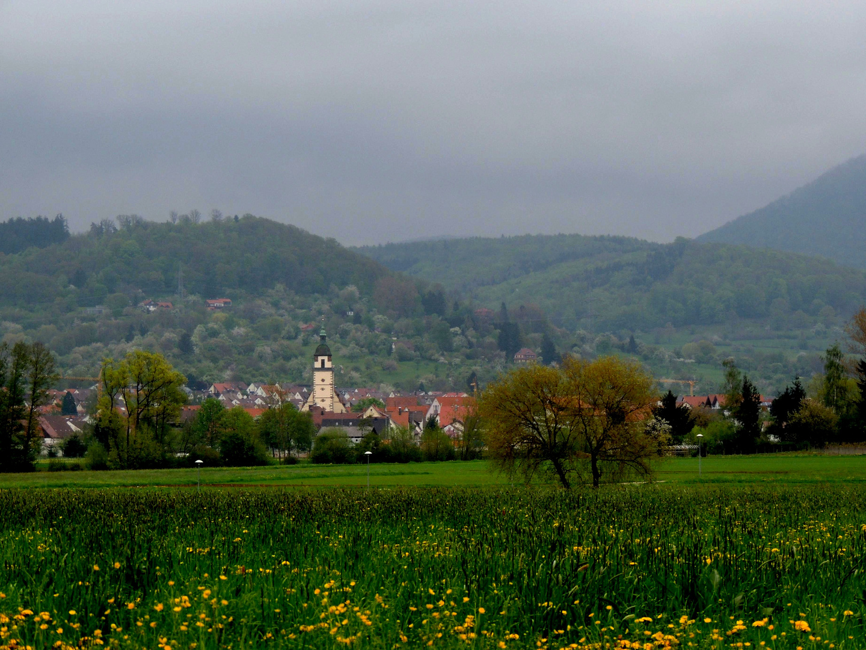 Des isch der Blick vom Egelsberg nach Weilheim