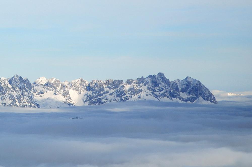 Des Kaisers Krone übem Nebelmeer