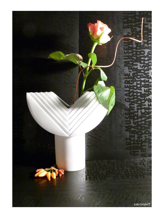 Des lettres et des fleurs / Buchstaben und Blumen