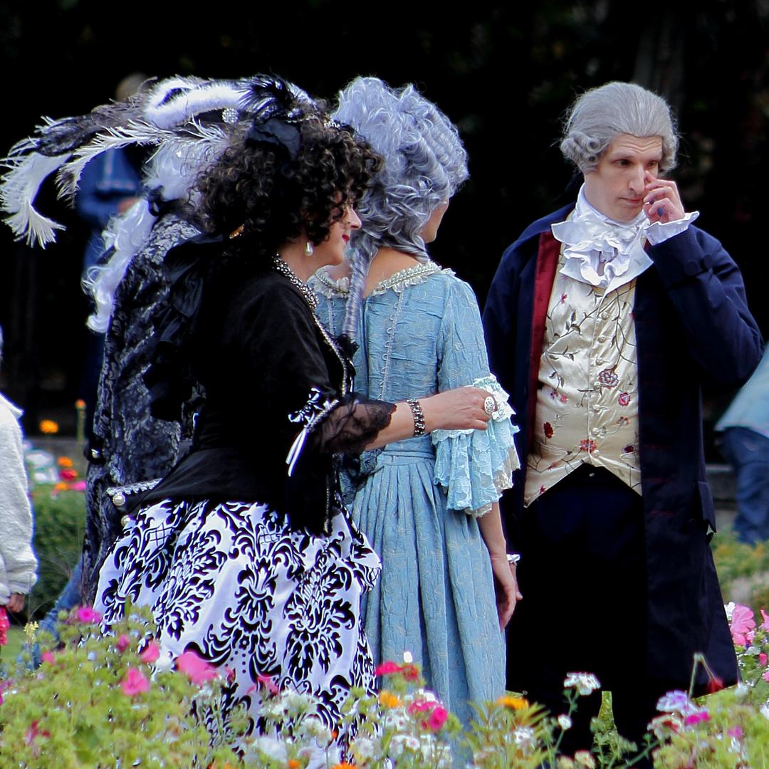 Des Nasenpuders Last ... ein Taschentuch, der Herr?!