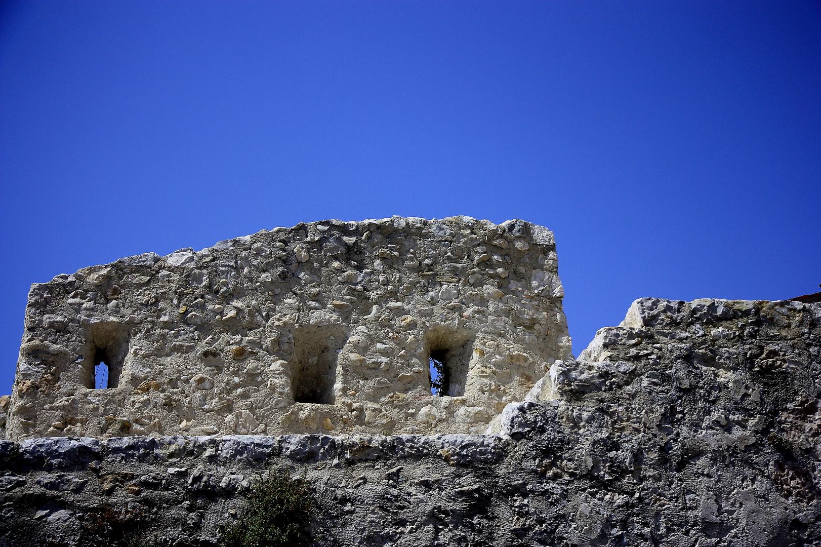 des ruines à Saint Paul de Vence