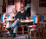 Desayuno con pajaritos. Una mañana en Montmartre. Paris