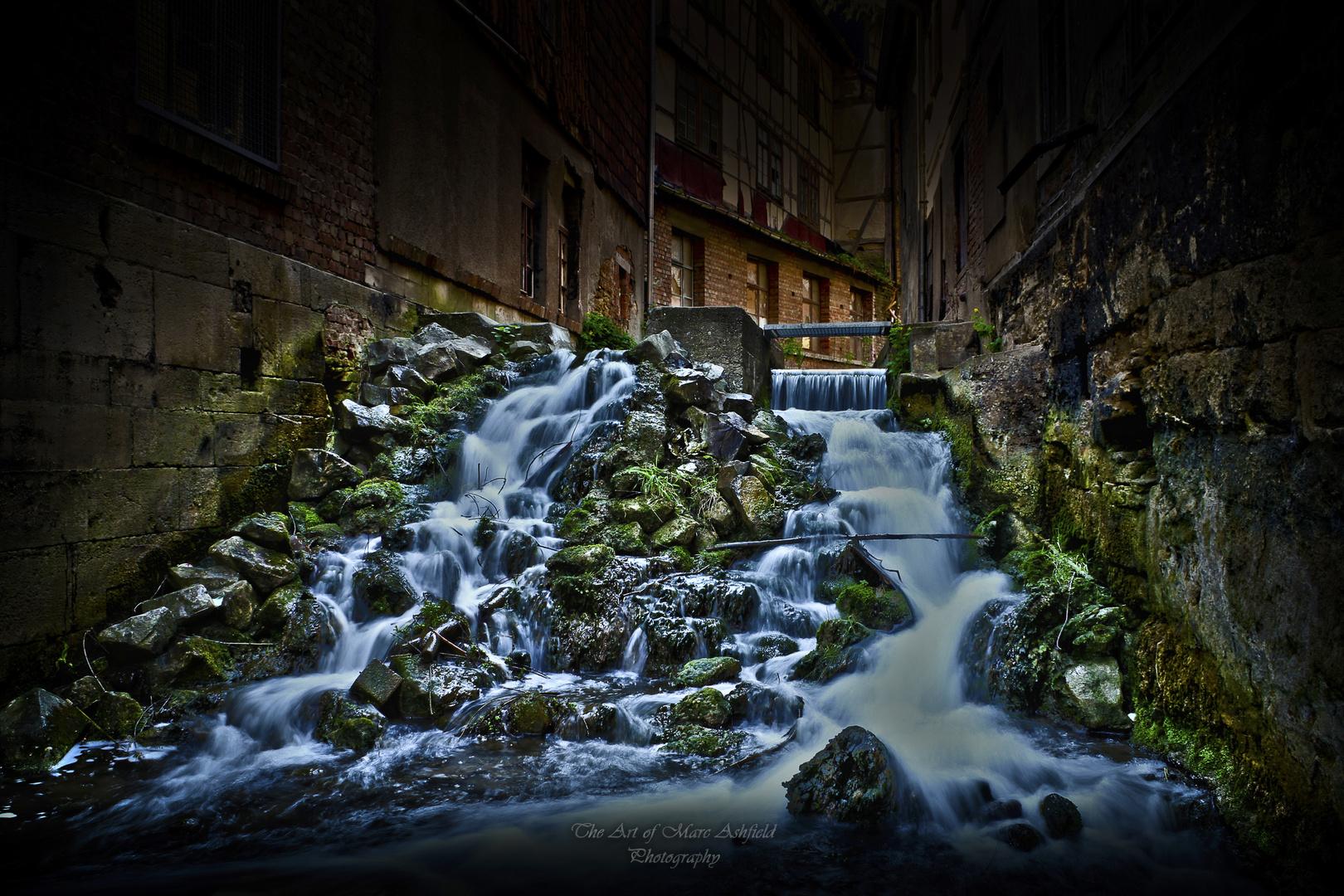 Descending Water