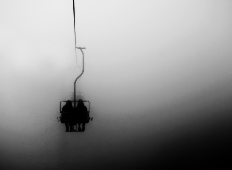 ...descent...