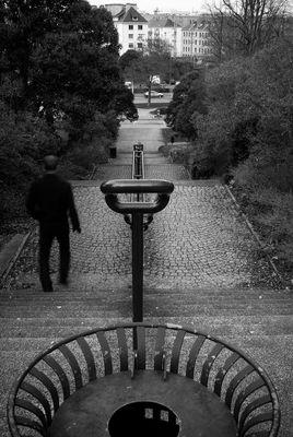 Descente à la gare