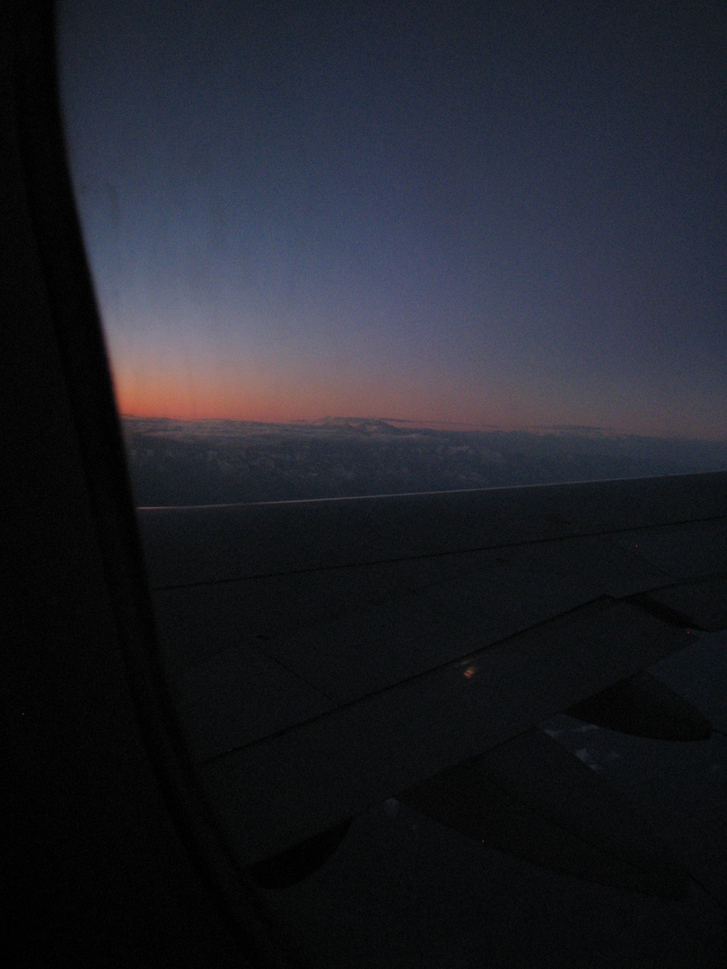 Desde el avion