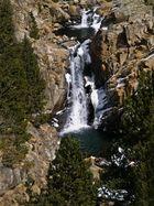 Desde el cremallera de la Vall de Nuria (Ripolles Girona Catalunya)