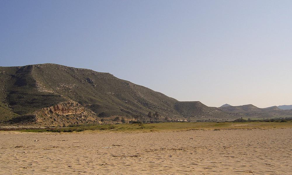 Desde El Playazo ( Almería )