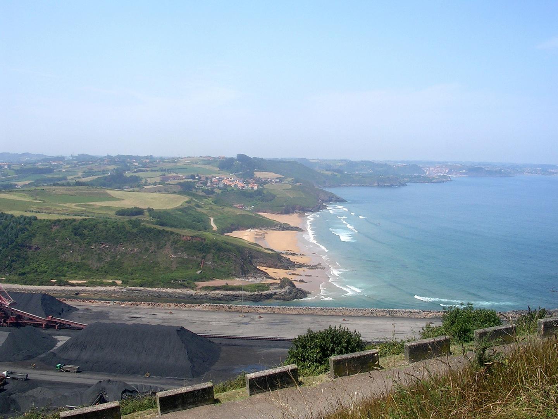 Desde la Campa Torres (Asturias)