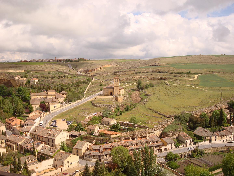 Desde lo alto del Alcázar de Segovia
