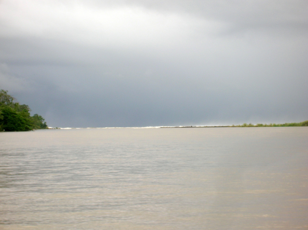 desembocadura al mar