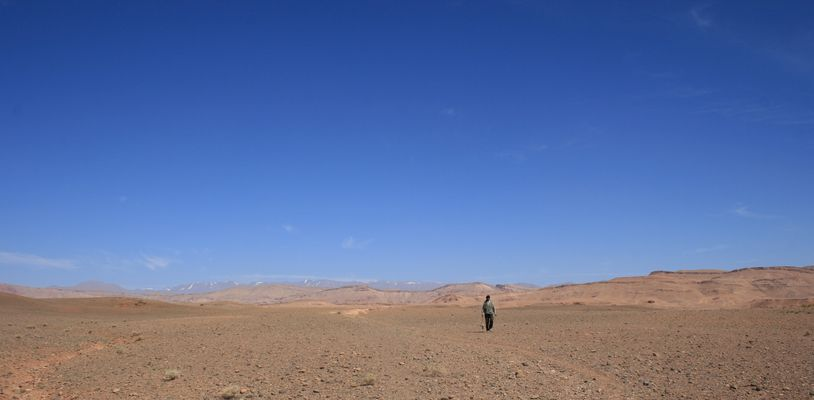 désert bleu