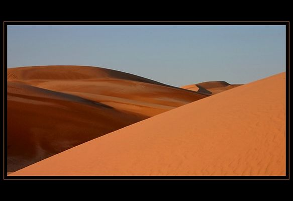 ...desert colors....