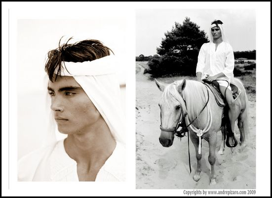Desert Male - Model Jacques - Copyrights by André Pizaro