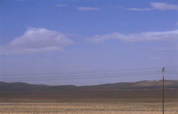 Desert near by Damascus