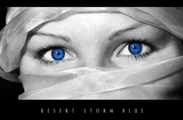 desert storm blue