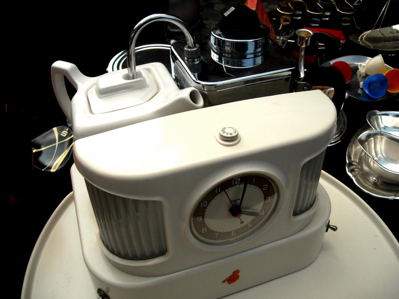 Design-Teemaschine der 40er Jahre