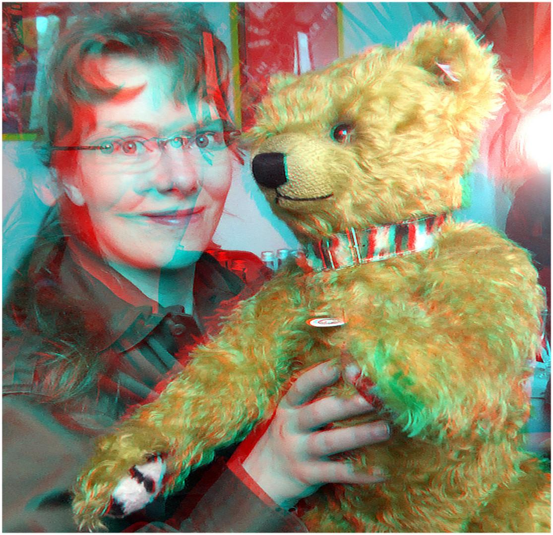 Desmond Teddy Bear (3D-Foto)