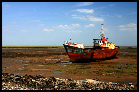 Desolate Old Boat