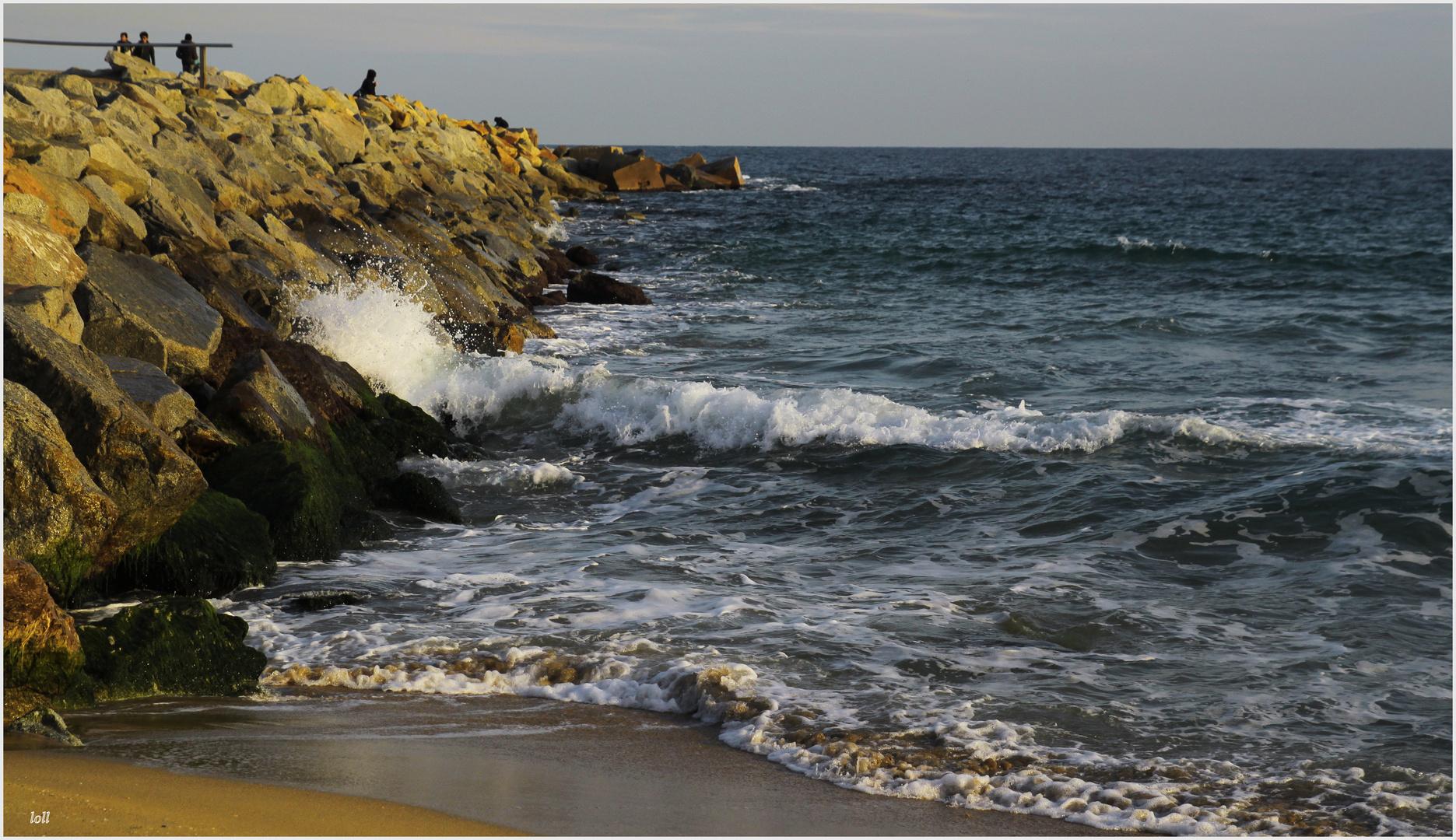 ...después de besar la...playa...