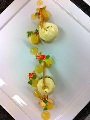 desserte 2 étoiles Michelin