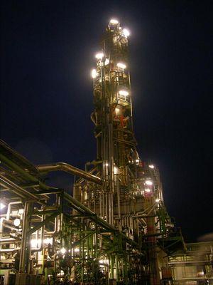 Destillationskolonne