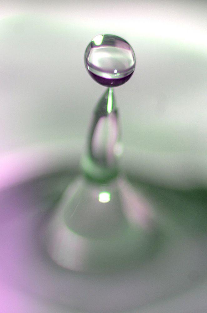 destilliertes Wasser in Aktion