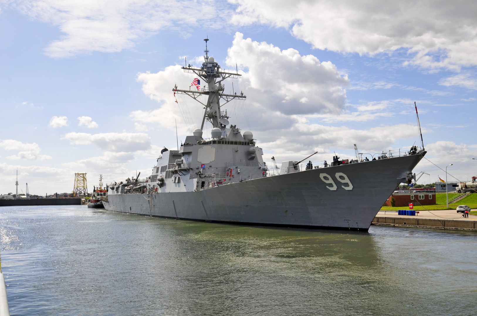 Destroyer USS Farragut