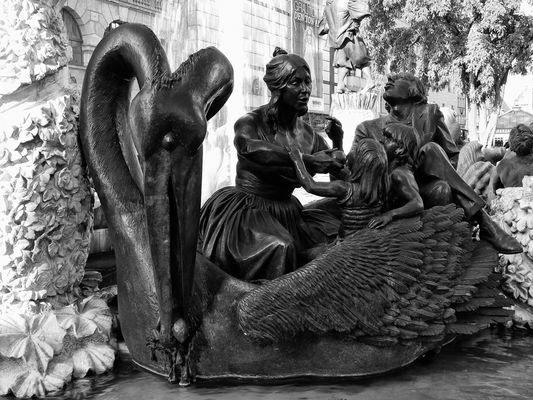 Detail aus dem Ehebrunnen in Nürnberg