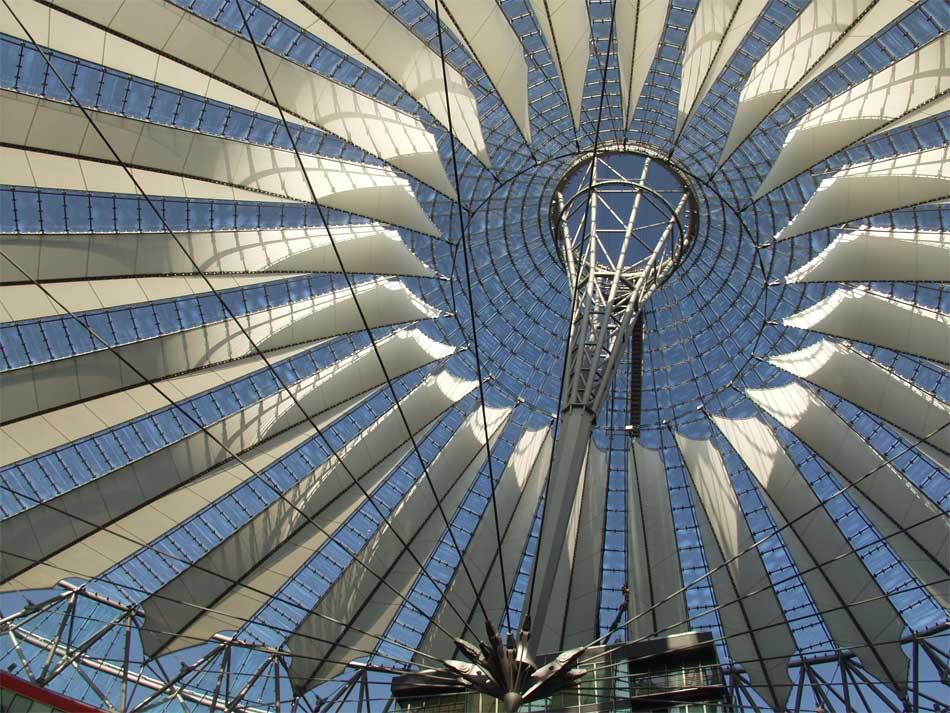 Detail aus dem Sony-Center, Berlin