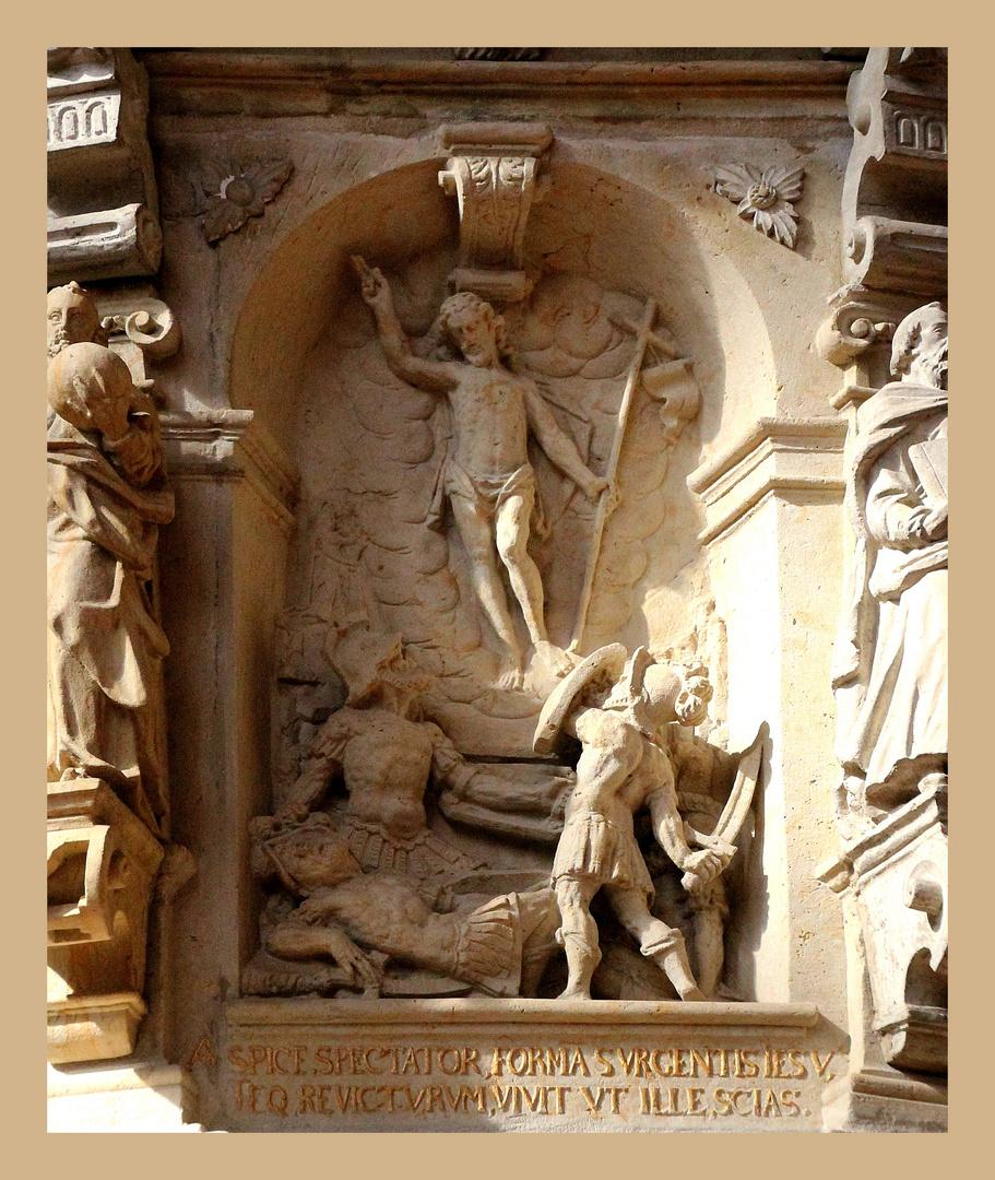 Detail aus der Kanzel in St. Michaelis Lüneburg