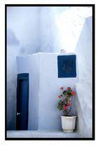 Detail aus Thira (Santorini)