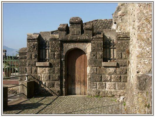 Detail beim Schloss