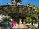 Détail de la fontaine de l'Hôtel de ville de Limoges